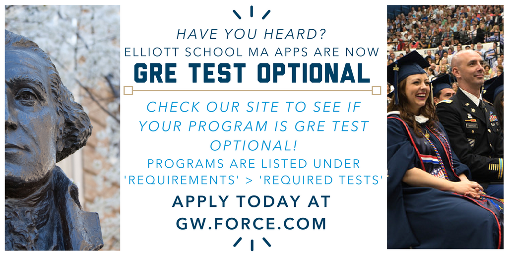 GRE Test Optional