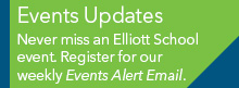 Events Alert listserv signup