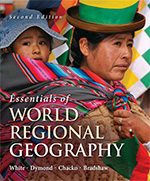 book cover: Essentials of World Regional Geography