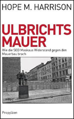 book cover:Ulbrichts Mauer