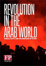 book cover: Revolution in the Arab World