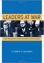 book cover: Leaders at War