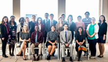 photo: USIP Finalists with Mentors