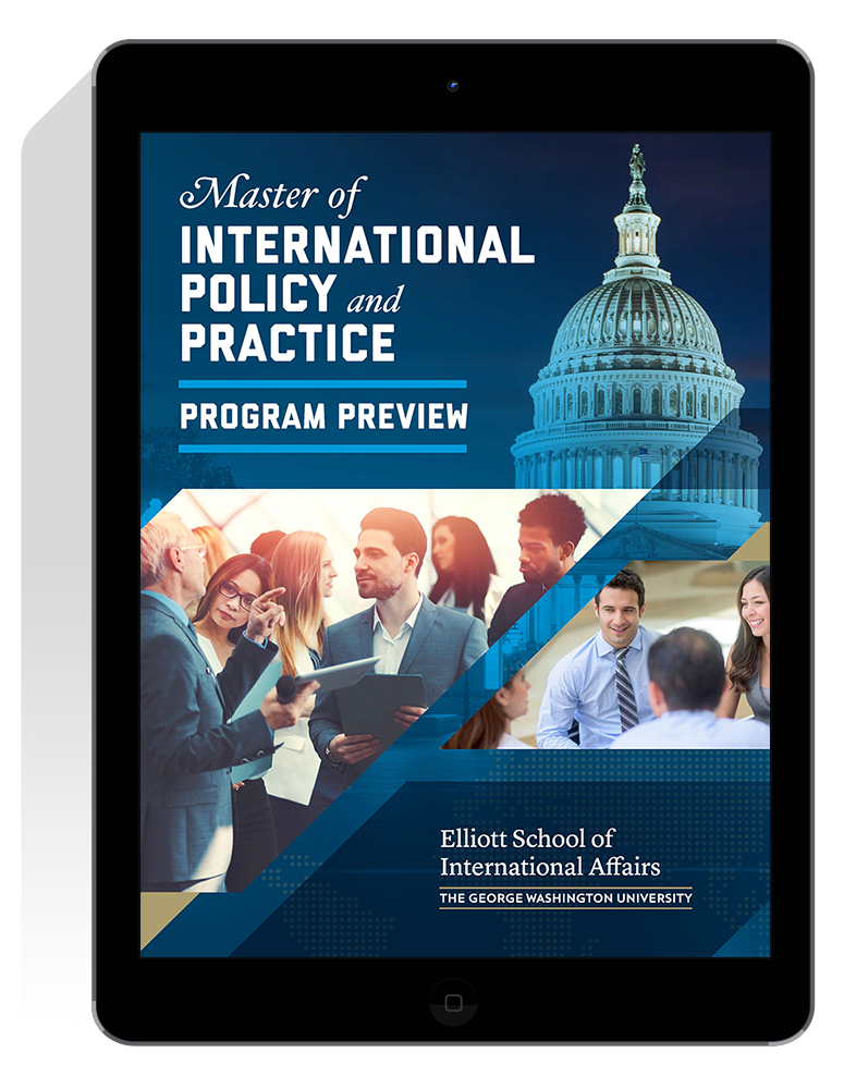 Graphic: Digital Program Preview for the MIPP Program