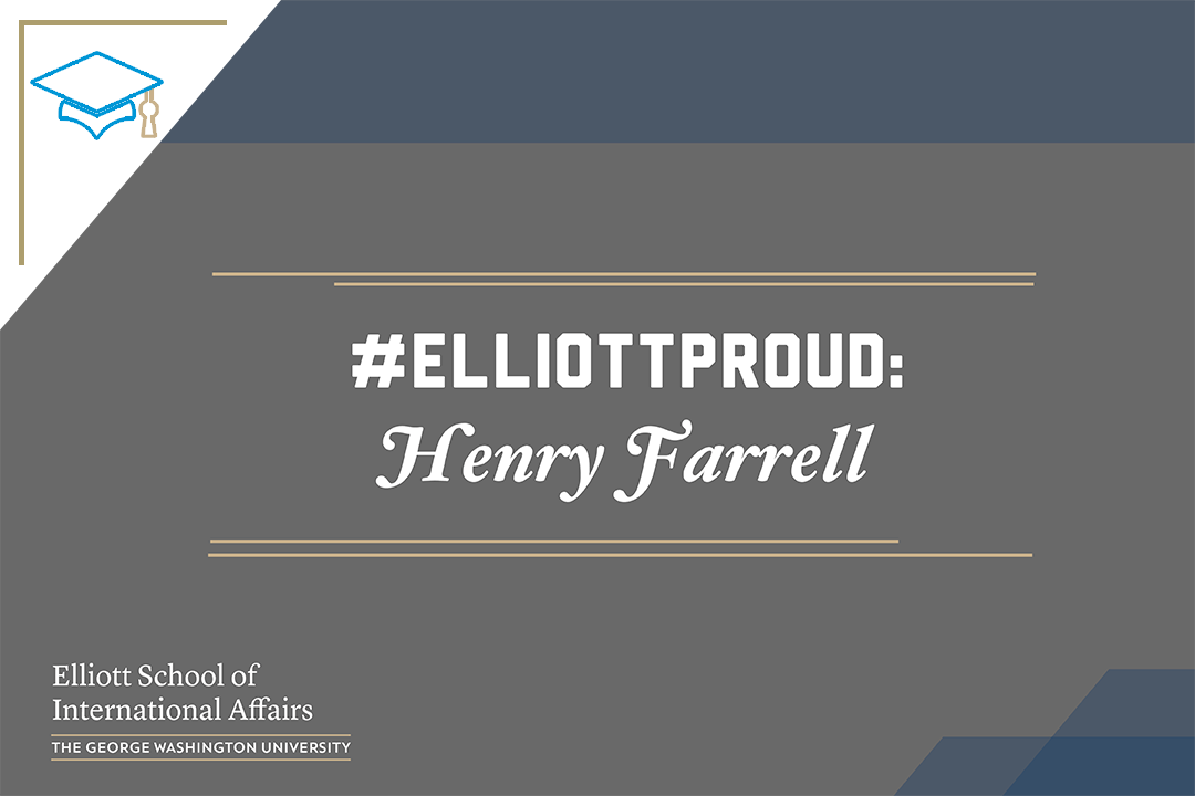 Photo: #ElliottProud of Henry Farrell