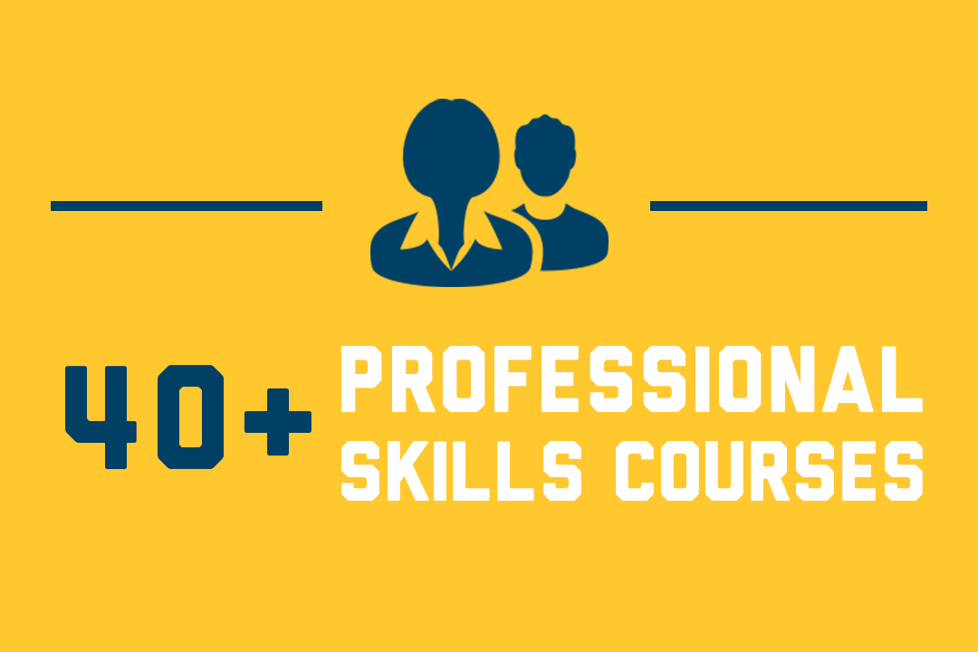 Graphic: 40+ Professional Skills Courses
