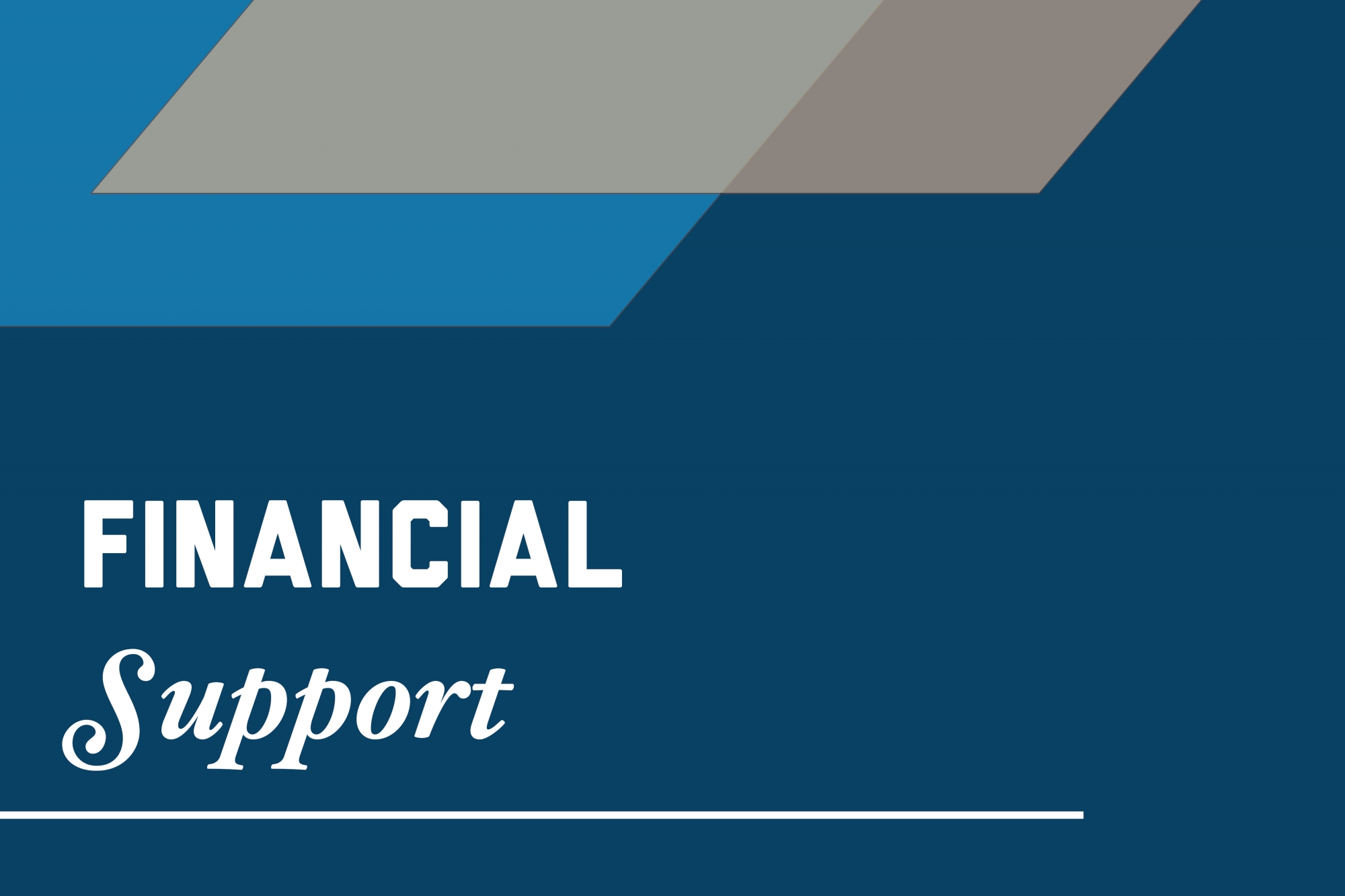 Graphic: Financial support