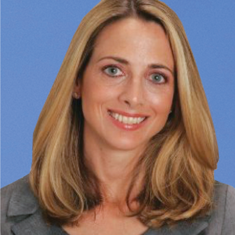 photo: a professional headshot of Board of Advisor Julie Monaco