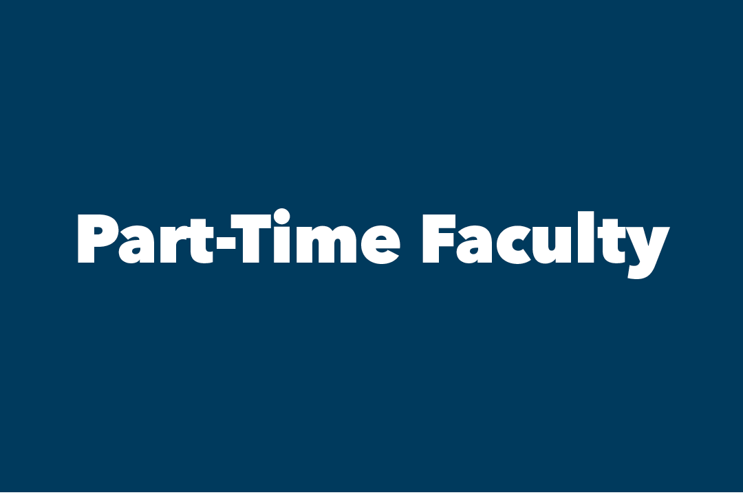 graphic: text: Part-Time Faculty