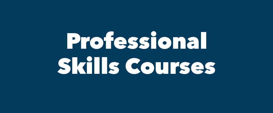 text: Professional Skills Courses
